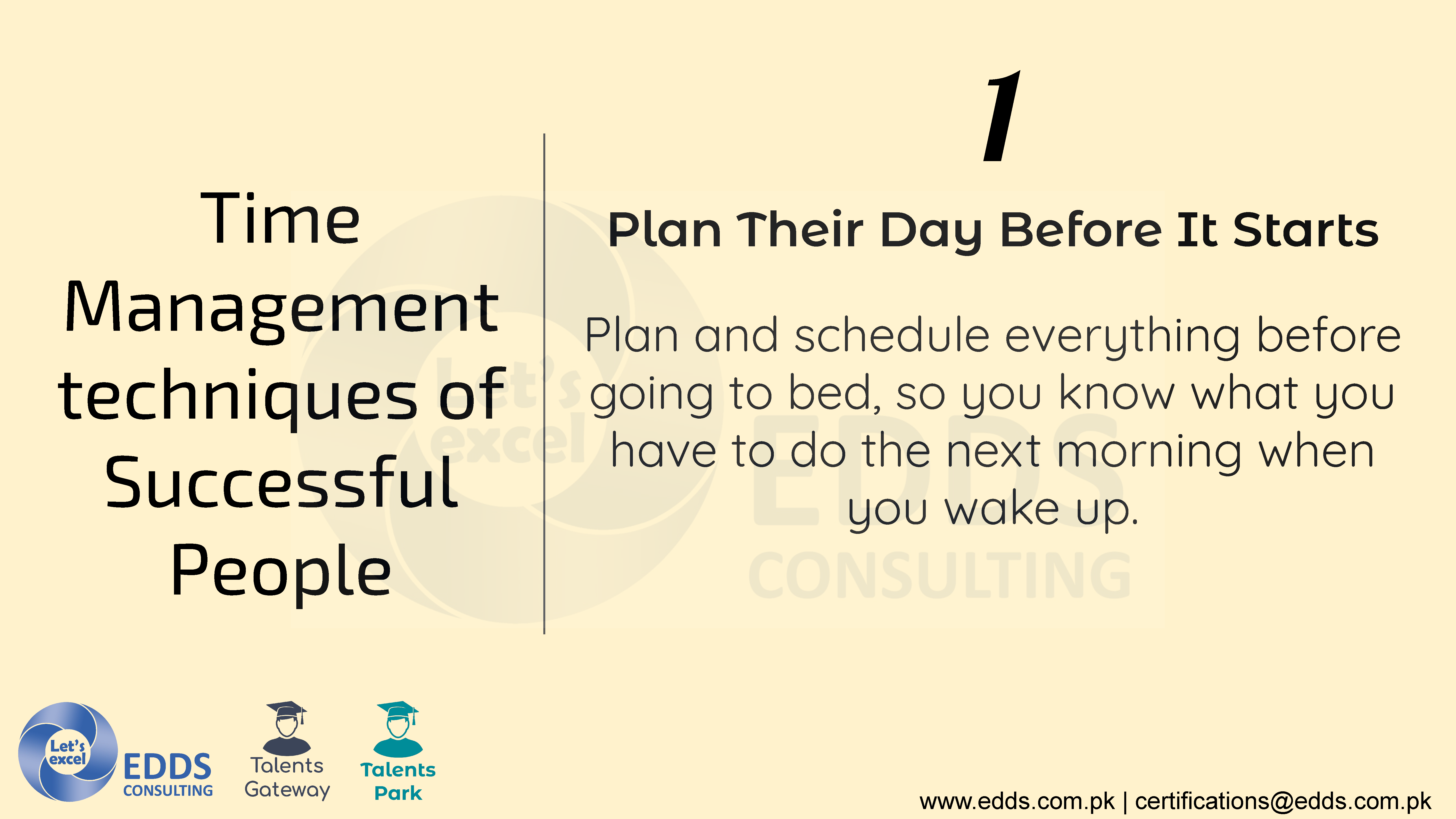 Time Management skills of Successful People